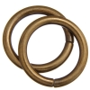 Jump Ring 20mm - Thick 2.6mm Antique Gold